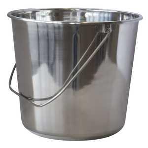 Buffalo Tools ssb422 Bucket Stainless Steel 4.22 Gal