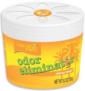 CALIFORNIA SCENTS ELM-045 Odor Eliminator Citrus Twist Scented Air Freshener