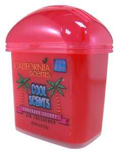 CALIFORNIA SCENTS GL157-007 Cool Scents Solid Dome Air Freshener Coronado Cherry Scent