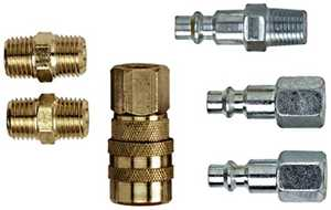 Campbell Hausfeld MP2119 1/4-Inch Npt Coupler And Plug Set