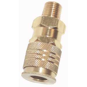 Campbell Hausfeld MP3336 1/4-Inch X 1/4-Inch Npt Male Brass Universal Coupler