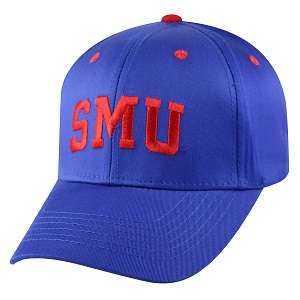 Captivating Headgear LOGO-SMTHD Southern Methodist Univ., 1K Series, Logo Ball Cap
