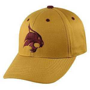 Captivating Headgear MASC-TXST Texas State Univ., 1K Series, Mascot Ball Cap