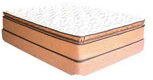 Campbell Mattress AV1010 Twin Anniversary Pillow Top Mattress
