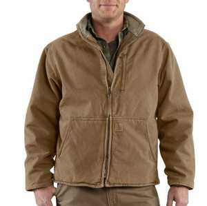 Carhartt 100112-903 Medium Frontier Brown Muskegon Jacket