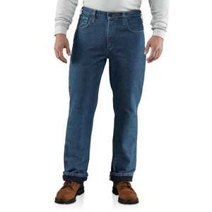 Carhartt 100160-451 38x30 Flame-Resistant Lined Utility Denim Jeans