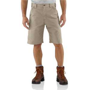 Carhartt B147TAN 38-Inch Tan Loose Original Fit Canvas Work Short with 10-Inch Inseam