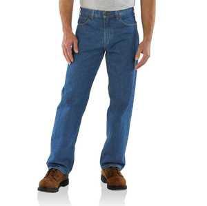 Carhartt B167-DST 42-Inch X 30-Inch Darkstone Loose Fit Jean