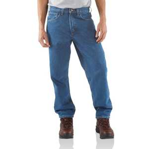 Carhartt B17-STW 34x34 Men's Relaxed-Fit Tapered-Leg Jean