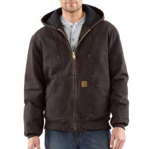 Carhartt J130-DKB Large Dark Brown Sandstone Active Jacket