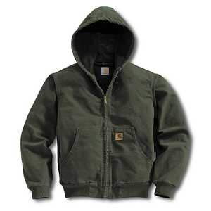Carhartt J280-MOS X-Large Moss Midweight Hooded Pullover Sweatshirt