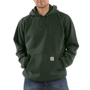 Carhartt K121OLV Large Olive Midweight Hooded Pullover Sweatshirt