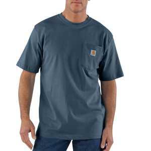 Carhartt K87BLS Medium Bluestone Workwear Pocket T-Shirt