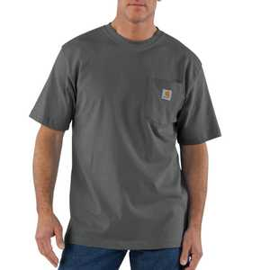 Carhartt K87CHR 2X-Large Charcoal Workwear Pocket T-Shirt