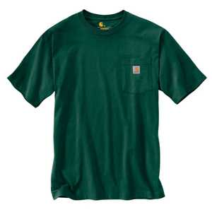 Carhartt K87-HTG X-Large Hunter Green Workwear Pocket T-Shirt