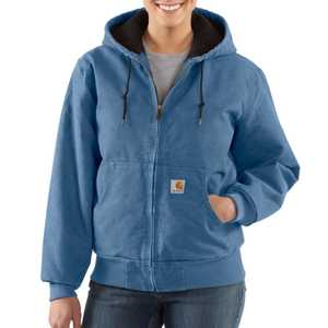 Carhartt WJ130FHB Womens Sandstone Lined Active Jacket Mr