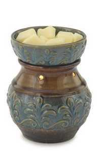 Candle Warmers Etc. RWFDL Blue Fleur De Lis Illumination Candle Wax Warmer