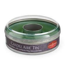 Candle Warmers Etc. CT1340 Balsam Fir Candle Aire Tin