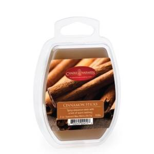 Candle Warmers Etc. 7220S 2.5-Ounce Cinnamon Sticks Wax Melt