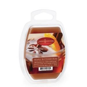 Candle Warmers Etc. 7470S 2.5-Ounce Maple Buttered Rum Wax Melt