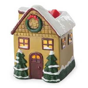 Candle Warmers Etc. SWCHR Christmas Cottage Illumination Candle Wax Warmer