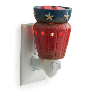 Candle Warmers Etc. PIAMER Americana Pluggable Fragrance Warmer