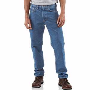 Carhartt B18 STW Straight/Traditional-Fit Tapered-Leg Jean 36x34