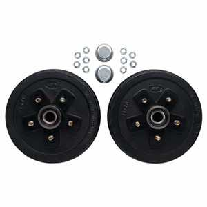 Carry-On Trailers 605 10 in Brake Drum Kit For 5-Lug