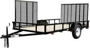 Carry-On Trailers 6X12GWATV 6 x 12-Foot Wood Floor Atv Trailer