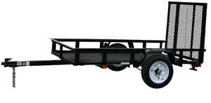 Carry-On Trailers 4X8G 4 ft X 8 ft Mesh Floor Trailer