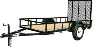 Carry-On Trailers 5X8GW 5 ft X 8 ft Wood Floor Trailer