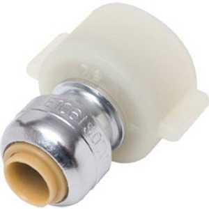 Cash Acme U3525LFA Sharkbite Connector Faucet 1/4x 1/2 Fnpt