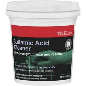 Custom Building Products TLSACRA1 Tilelab Sulfamic Acid Cleaner 1lb