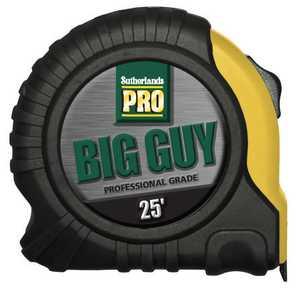 Sutherlands Pro 53025 25 Ft Big Guy Tape Measure