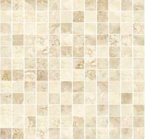 Ceramica San Lorenzo PORCELAIN Paradise Cashmere Mosaic 1x1 in Tile