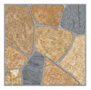 Ceramica San Lorenzo INK JET PATTERN Patio Terraza Ocre 18x18 in Tile