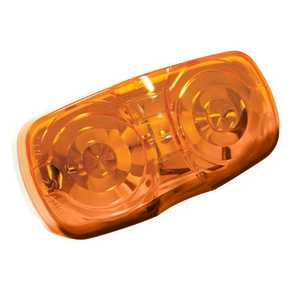 Reese Towpower 73804 Dual Bulb Clearance Light, Amber