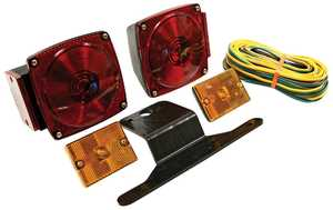 Reese Towpower 73832 Standard Trailer Light Kit