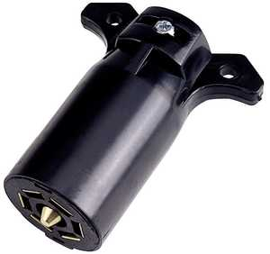 Reese Towpower 74127 Plastic Electrical Connector, Trailer End
