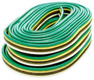 Reese Towpower 85205 Bonded Trailer Wire, 16 Gauge