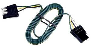 Reese Towpower 74636 4-Way Flat Connector Loop, 24 ft