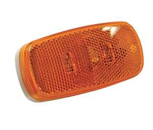 Reese Towpower 73862 L E D Clearance Light With Reflector, Amber