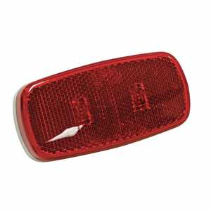 Reese Towpower 73863 L E D Clearance Light With Reflector, Red