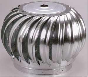 Air Vent Ventilation 52606 Wind Turbin 12 in ternally Braced Head Mill
