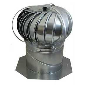 Air Vent Ventilation 52605 Wind Turbin 12 in Externally Braced W/Base Mill