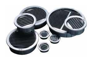 Air Vent Ventilation 50001 Mini Louver 2 in Mill 6 Per Bag