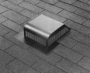 Air Vent Ventilation RVG55000 Roof Vent Slant Back Airhawk Galvanized Mill