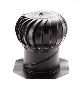 Air Vent Ventilation 52622 Wind Turbin 14 in Internally Braced W/Base Weatherwood