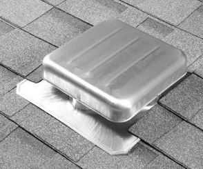 Air Vent Ventilation 85162 Roof Vent Galvanized Mill