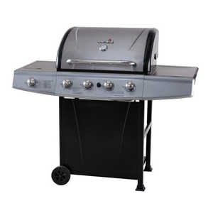 Char Broil 463210311 48,000-Btu Gas Grill With Side Burner